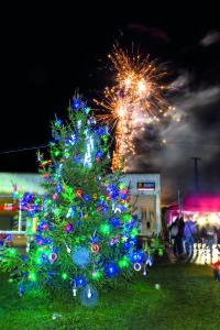 DI1-16 - Z regionu - Rozsvěcení vánočního stromu Dobré Pole 1