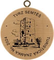 Semtěš - tur. známka
