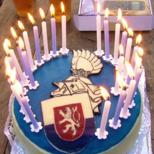 Narozeninový dort k 25 letům SHŠ Páni  z Kolína
