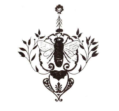 DI7-16 - Spolky - Včela čáslavská - logo