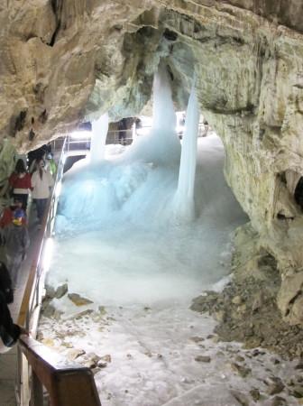Demänovská ĺadová jaskyňa  je národní přírodní památkou