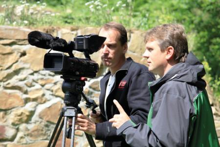 S dlouholetým spolupracovníkem, kameramanem Janem Kubkou