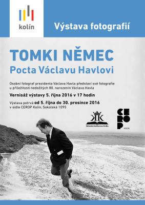 DI10-16 - plakátek výstava k výročí Havla