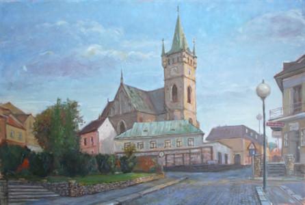 Kostel sv. Mikuláše v Humpolci - 2016