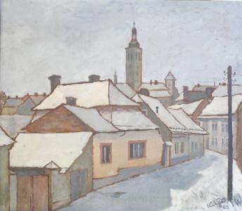 Kutná Hora v zimě