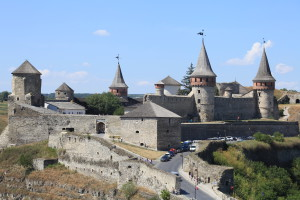 Hrad v Kamenci Podolském