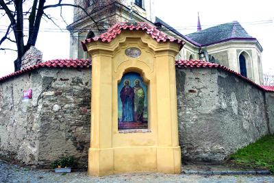Kaplička sv. Cyrila aMetoděje – listopad 2016