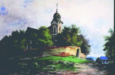 Kostel sv. Ondřeje pobarokní úpravě